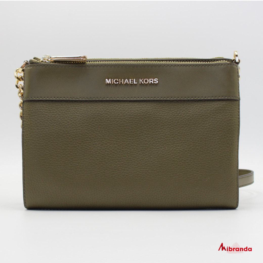Bolso bandolera Kenly,de Michael Kors, color duffle