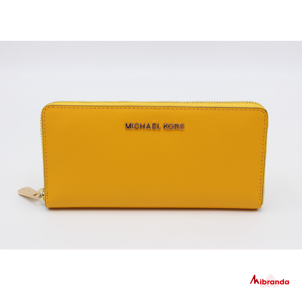 Cartera Jet Set Michael Kors, color amarillo