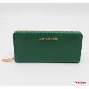 Cartera Jet Set Michael Kors, color verde