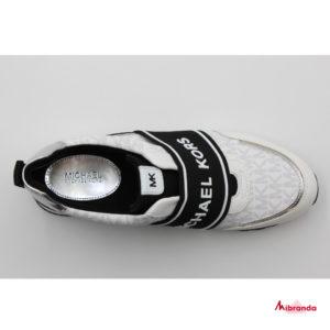 Sneakers TEDDI TRAINER MINI MK LOGO, de Michael Kors, black/white