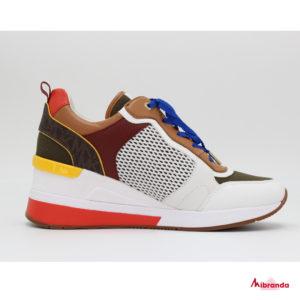 Sneakers CRISTA TRAINER, de Michael Kors, OPWHT MULTI