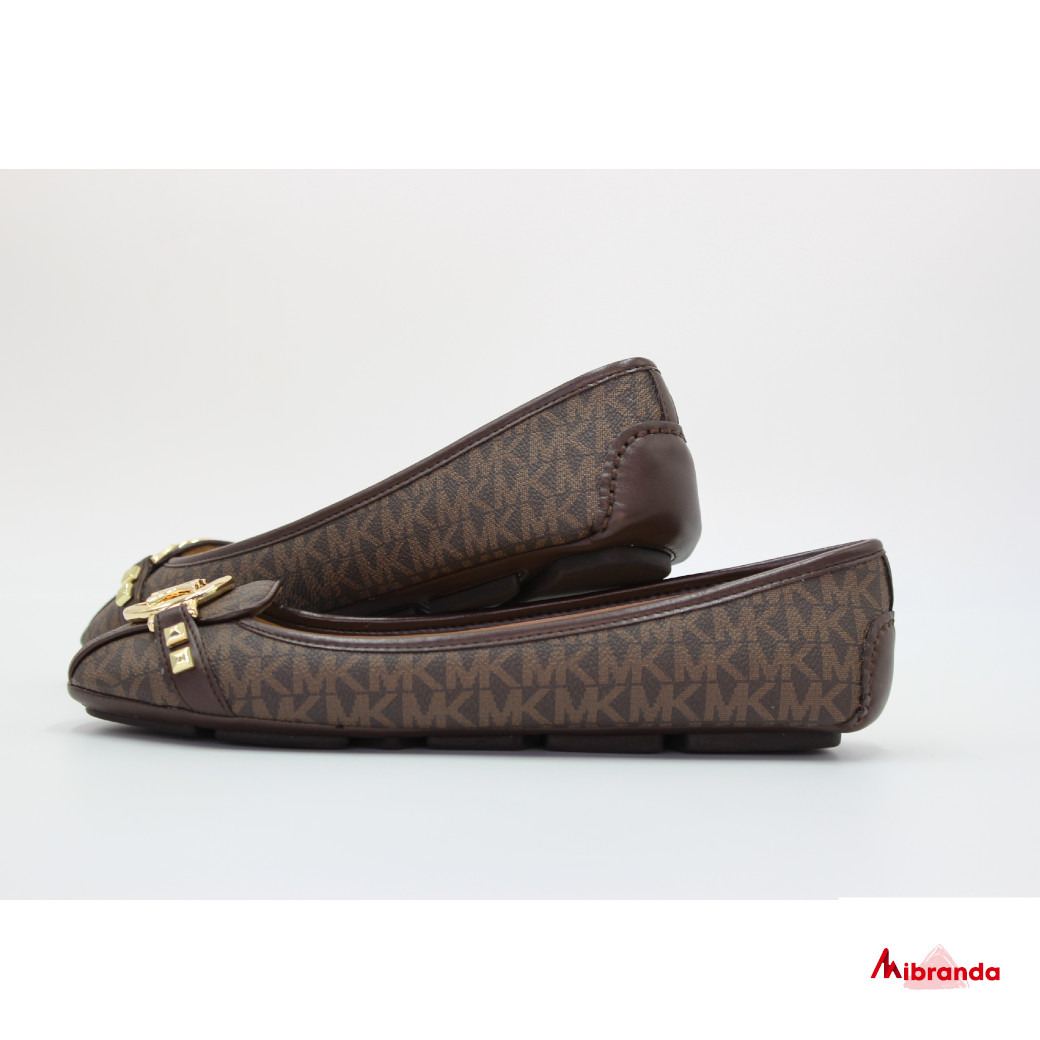 Bailarinas FULTON MOC brown, de Michael Kors