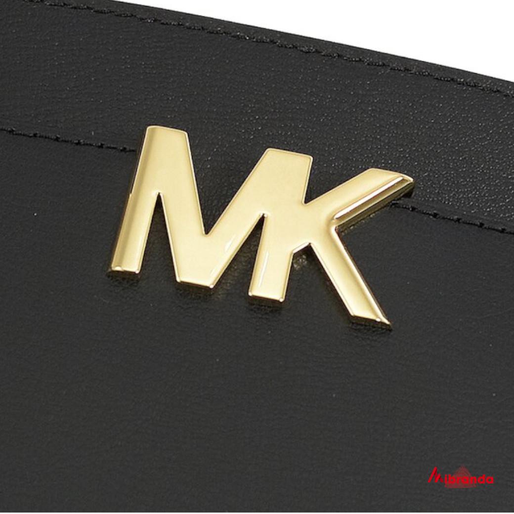 Bolso Satchel MOTT, de Michael Kors, negro