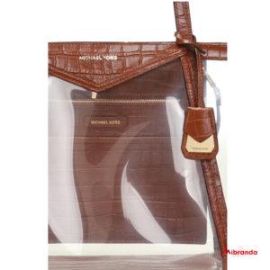 Bolso Tote Whitney, chestnut, de Michael Kors.
