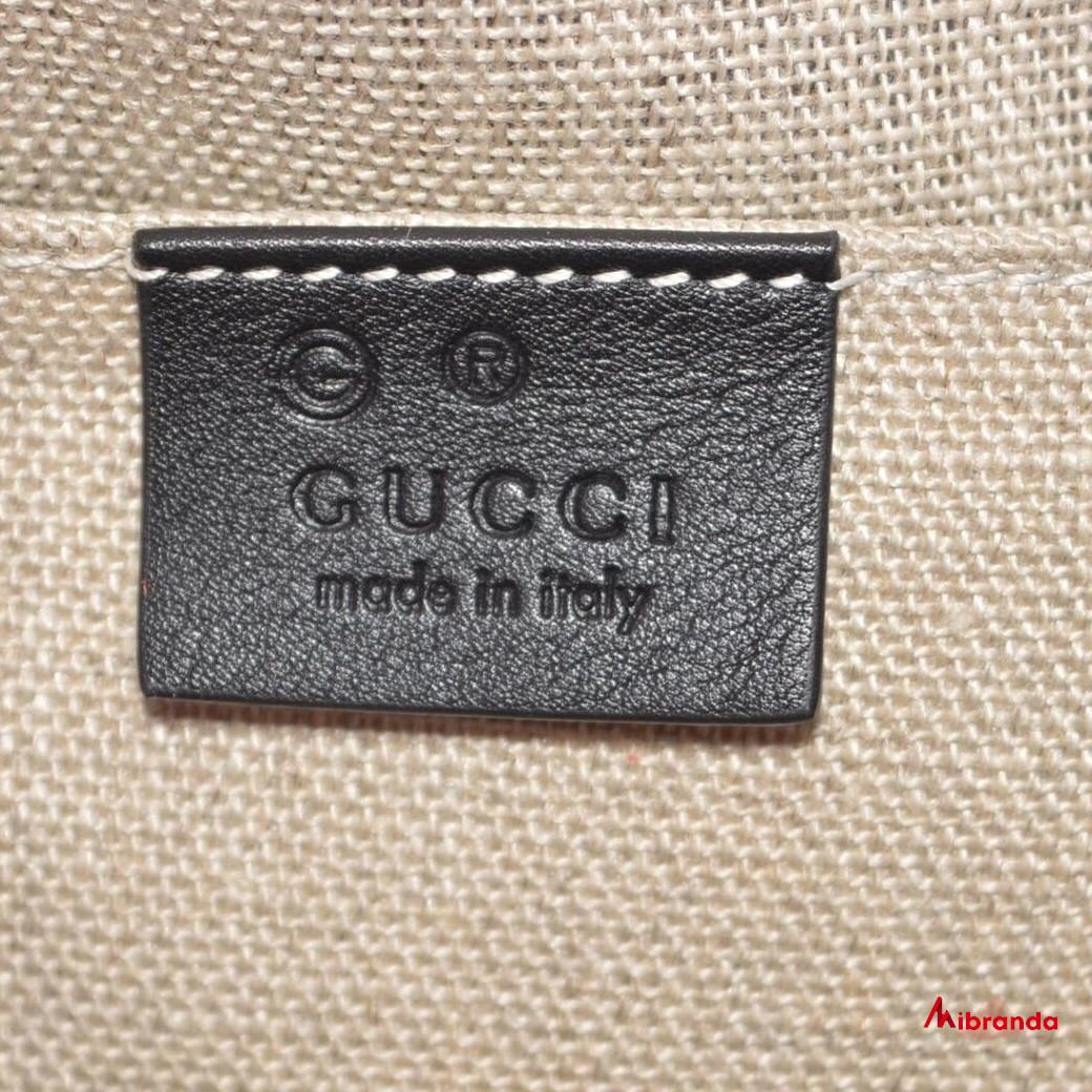 Gucci GG mini Dome Satchel, negro.