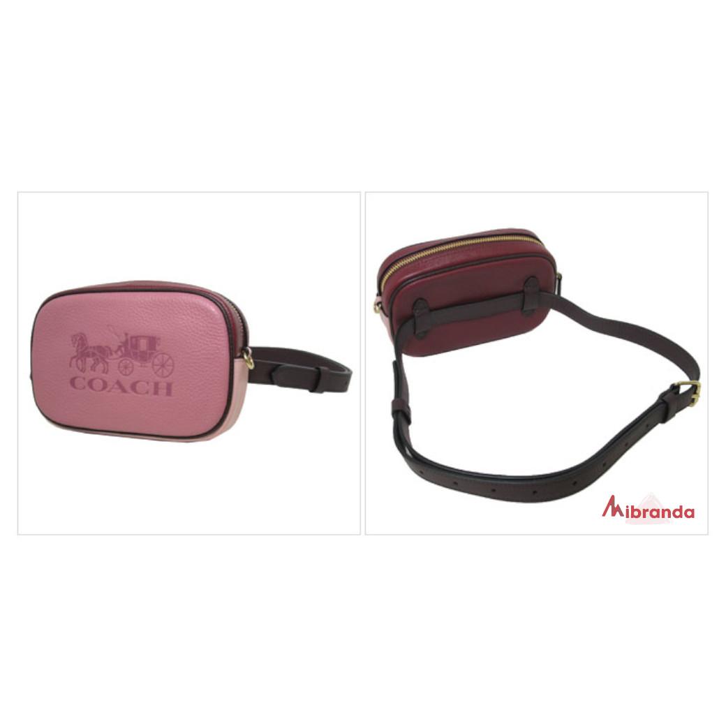 Bandolera/riñonera convertible en piel, Rose Multi, de COACH