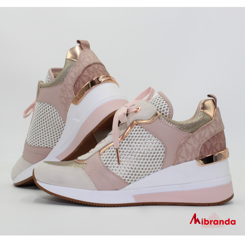 Sneakers CRISTA TRAINER Rose Gold, de Michael Kors