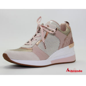 Sneakers CRISTA TRAINER Rose Gold, de Michael Kors