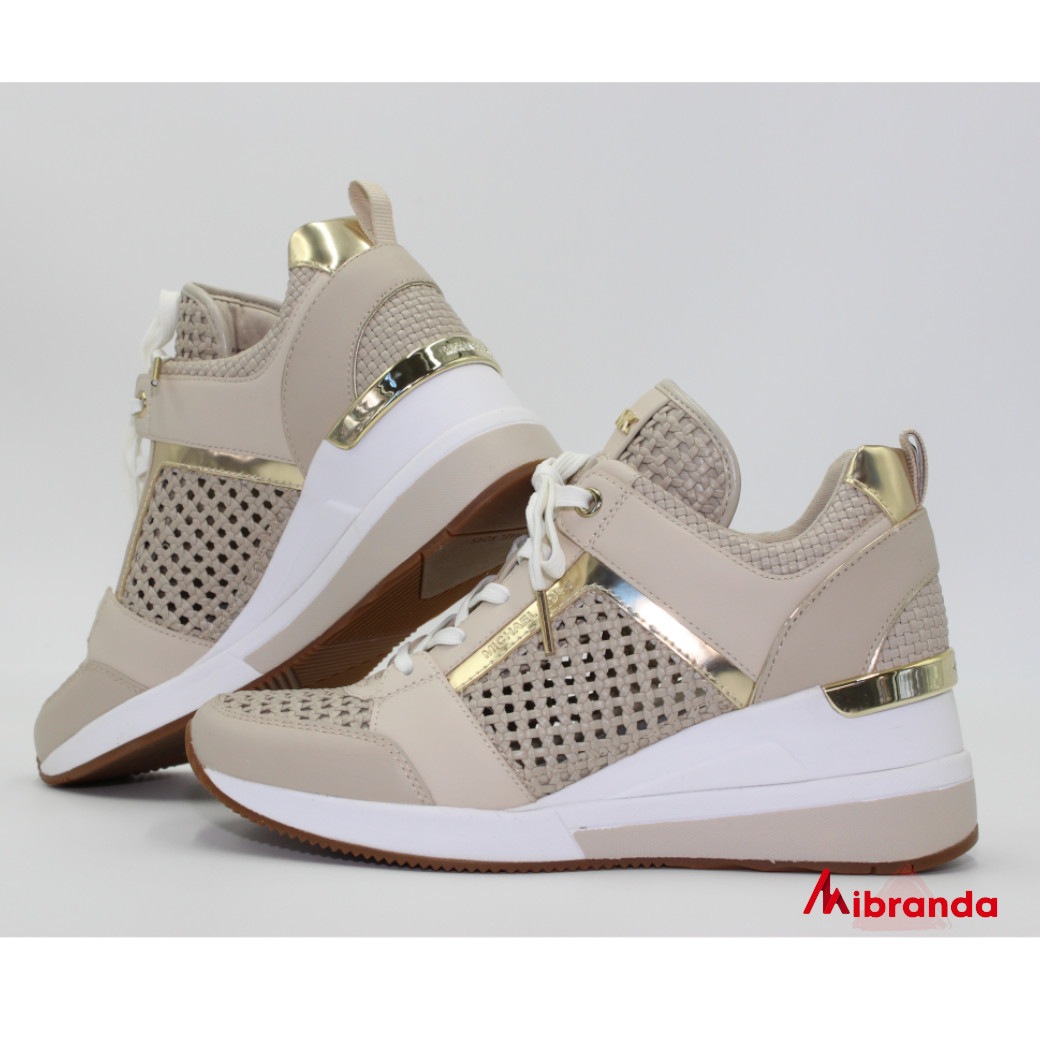 Sneakers  Georgie Trainer Light Sand, de Michael Kors
