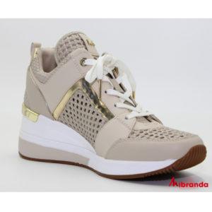 Sneakers  Georgie Trainer Light Sand, de Michael Kors