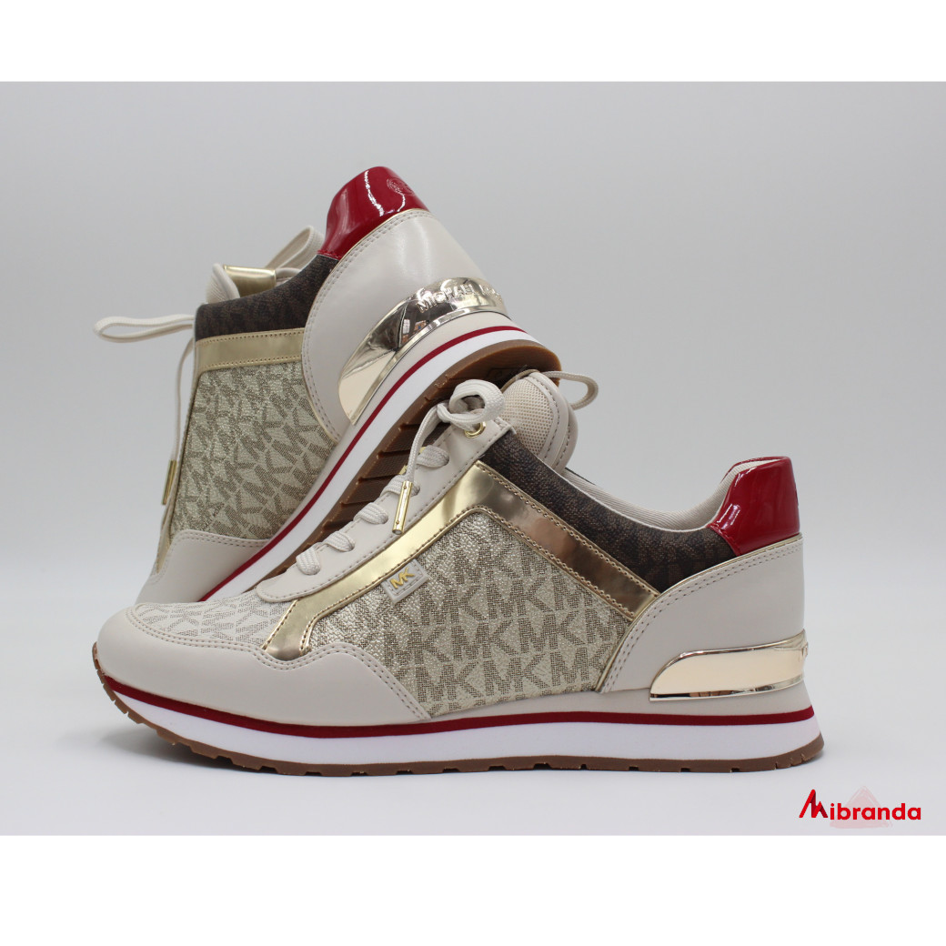 Sneakers MADY TRAINER pale gold, de Michael Kors