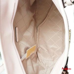 Bolso Maxi Tote Jet Set Travel, brown/blossom, de Michael Kors.