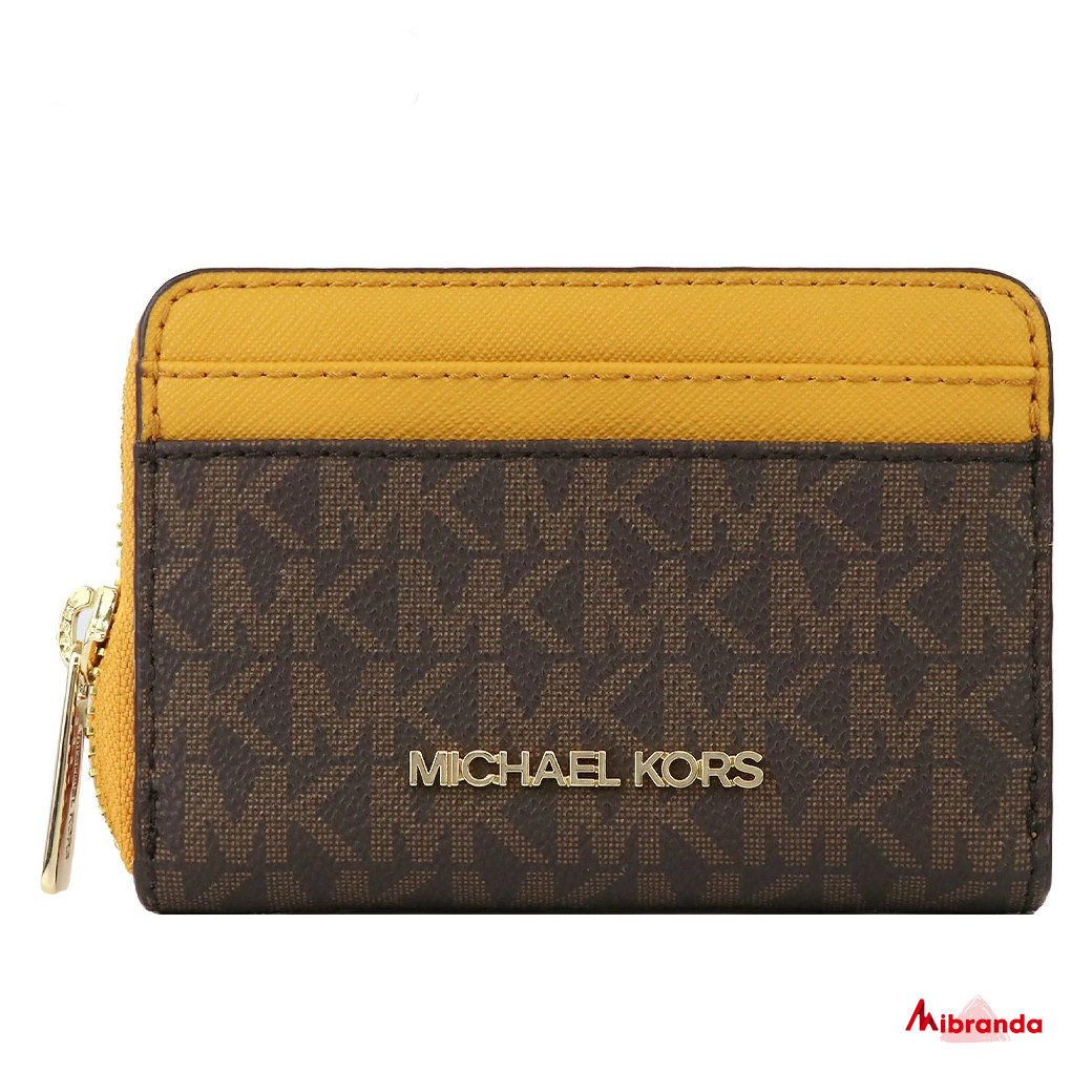 Cartera pequeña Jet set Travel, Daisy yellow, de Micharl Kors