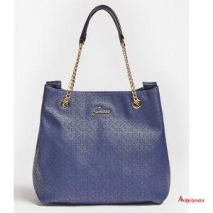 Bolso de hombro EMILLY, blue, de GUESS