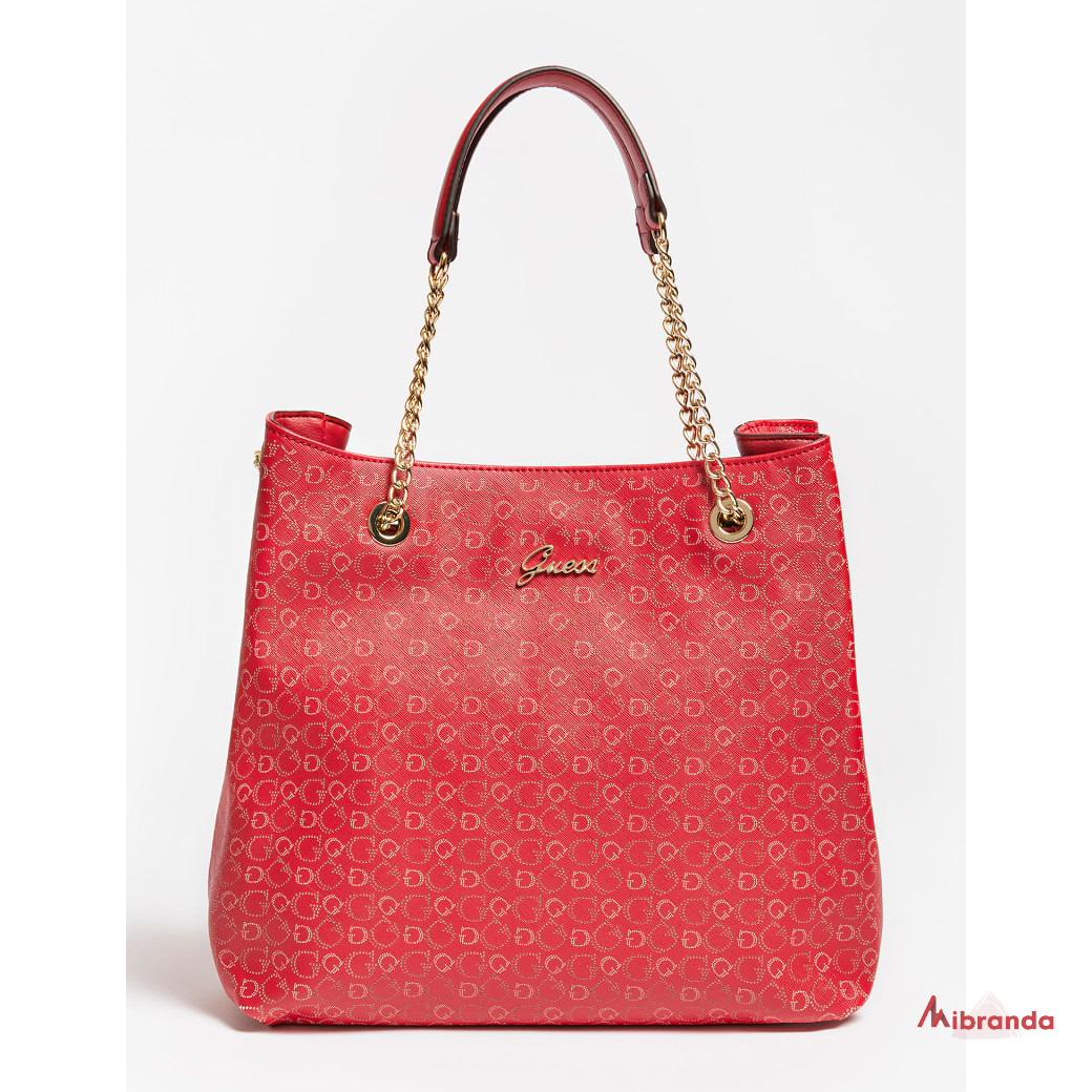 Bolso de hombro EMILLY, red, de GUESS