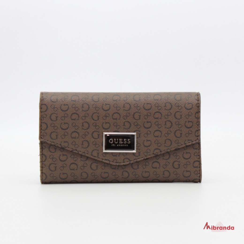 Cartera AKITA, brown, de GUESS