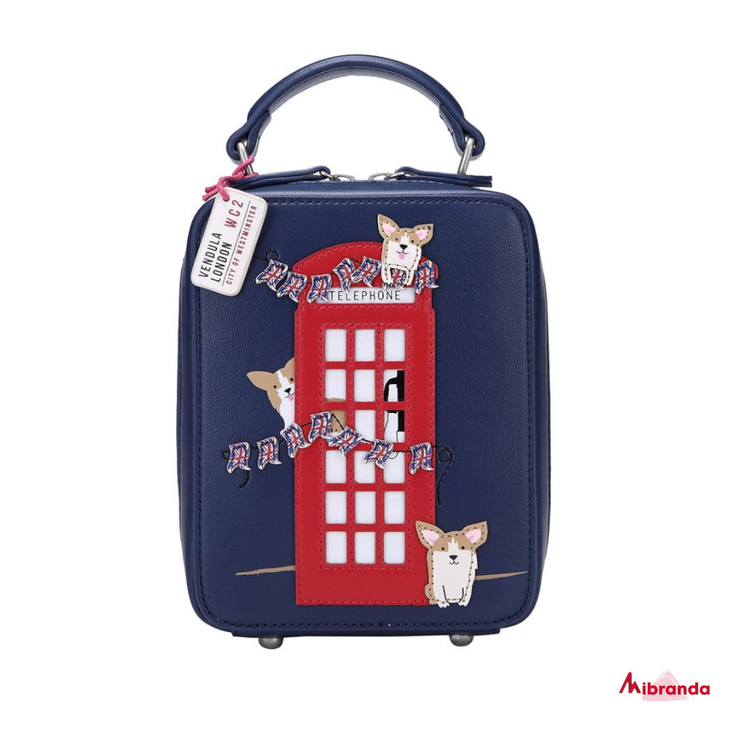 Bolso bandolera London Corgis, de Vendula London
