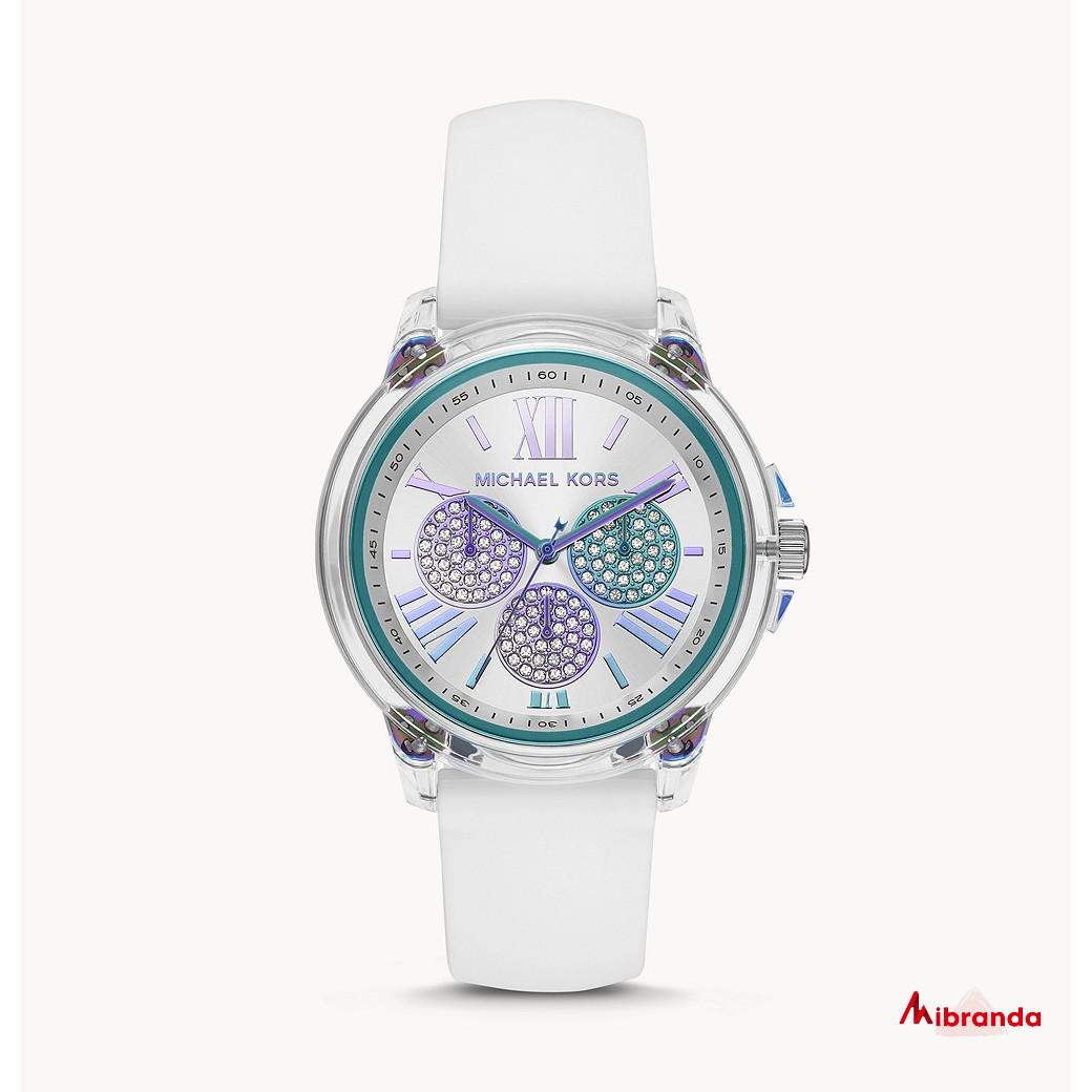 Michael Kors Reloj Bradshaw white para mujer MK6877