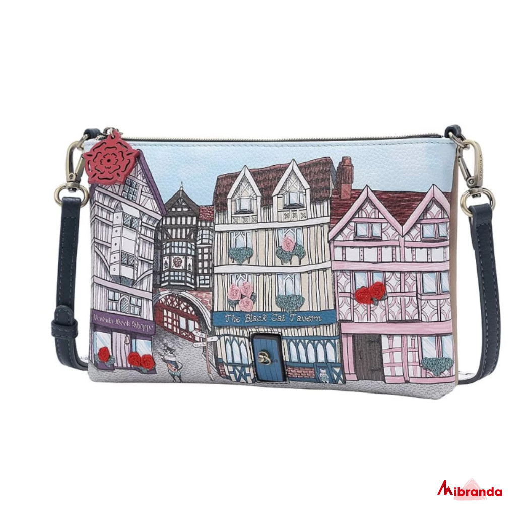 Bolso Clutch Heritage Tudor, de Vendula London