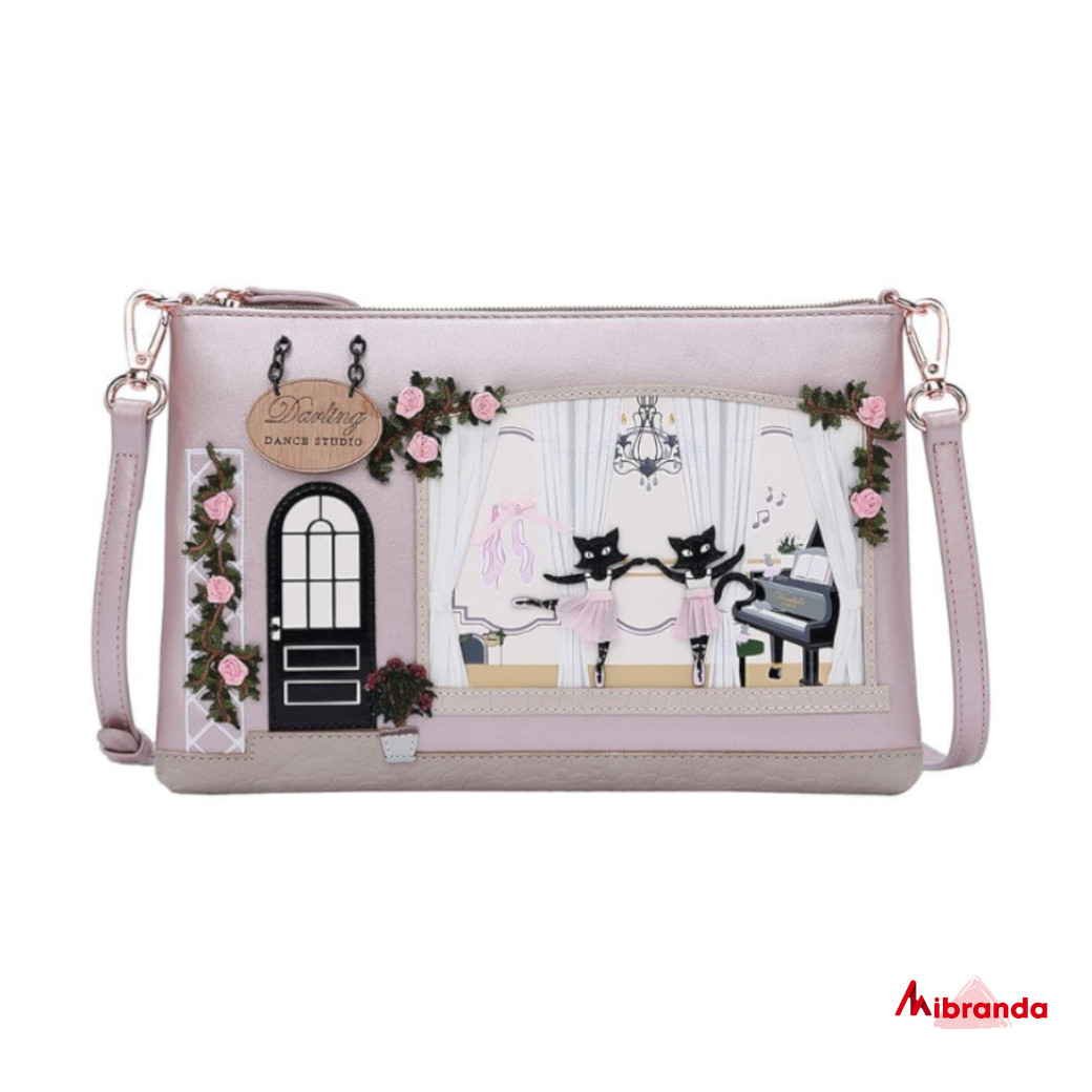 Bolso Clutch Darling Dance Studio, de Vendula London