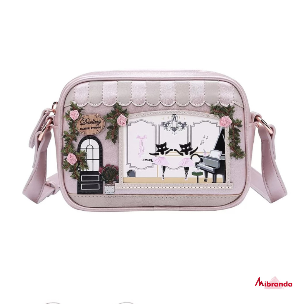 Bolso bandolera Darling Dance Studio, de Vendula London