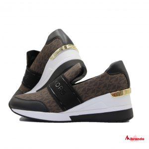 Sneakers VARGAS TRAINER black/brown, de Michael Kors