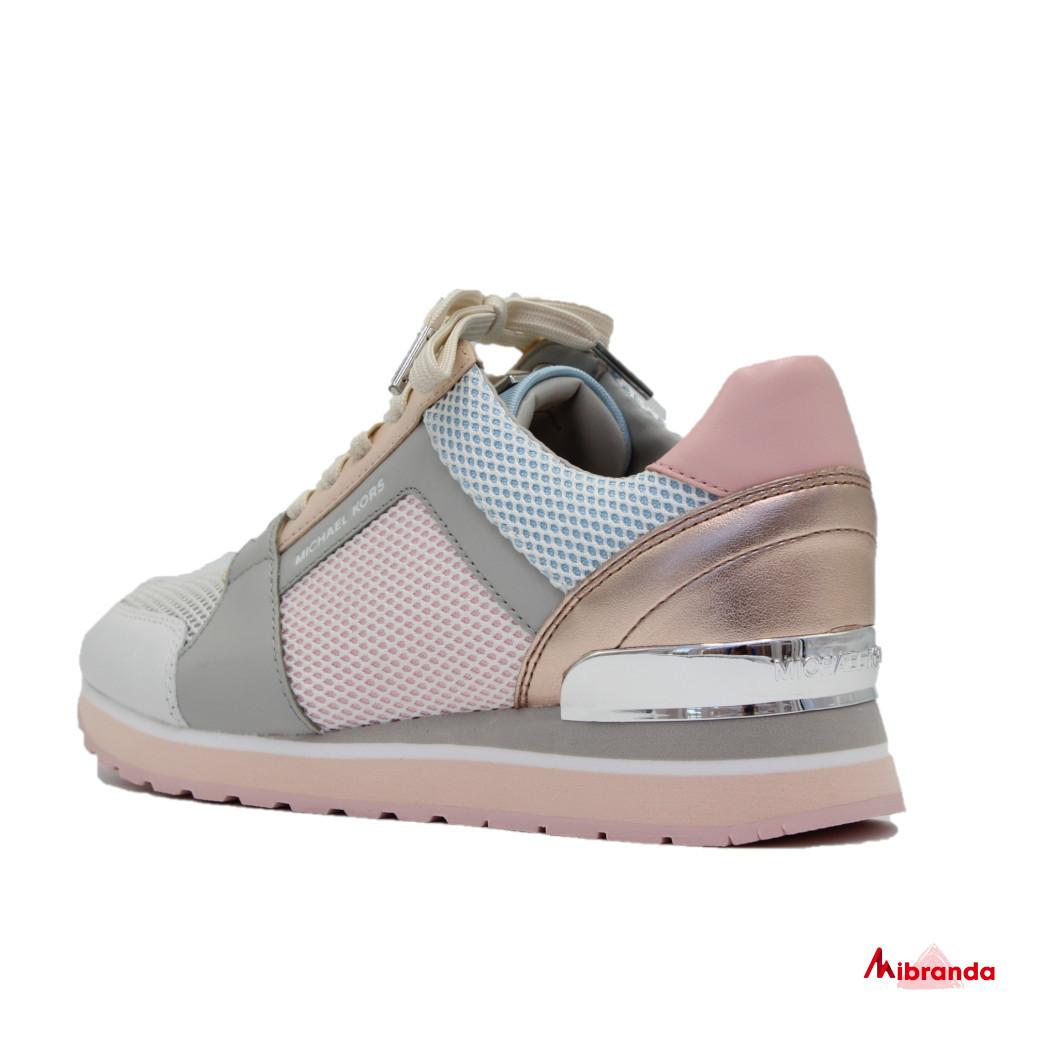 Sneakers BILLIE TRAINER, pink multi, de Michael Kors.