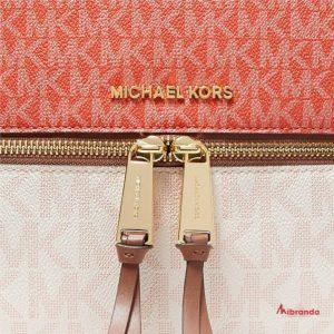 Mochila RHEA Zip, Pnkgrpft mlt, de Michael Kors