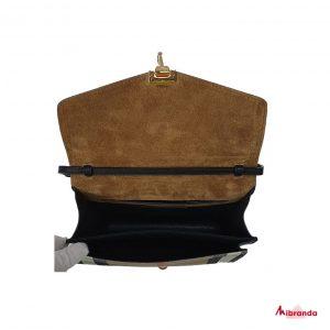 Bolso SM Macken negro, de Burberry