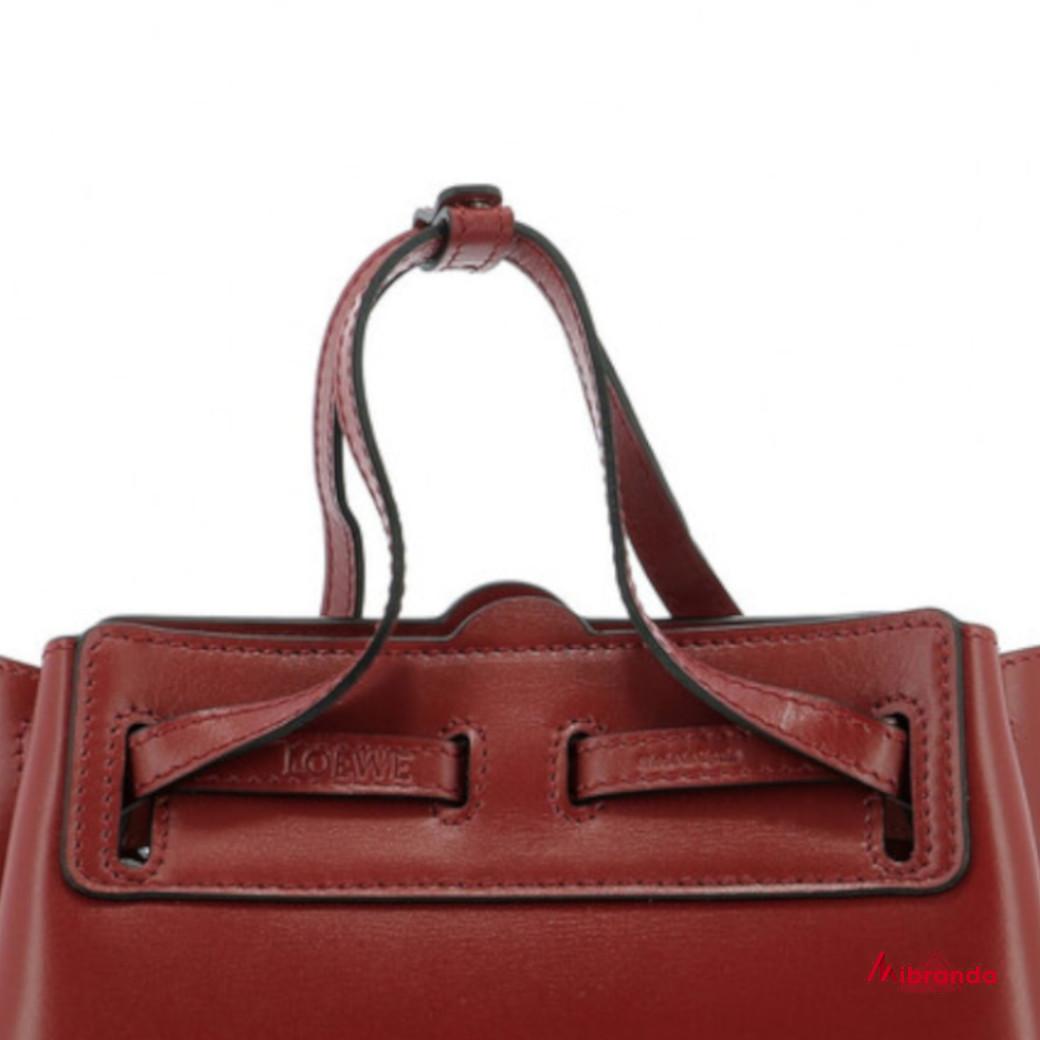Bolso lazo mini rouge, de Loewe