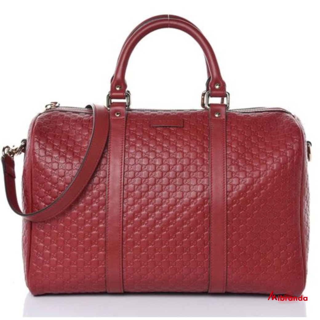 Bolso de mano/hombro BOSTON Micro GG, rojo, de Gucci
